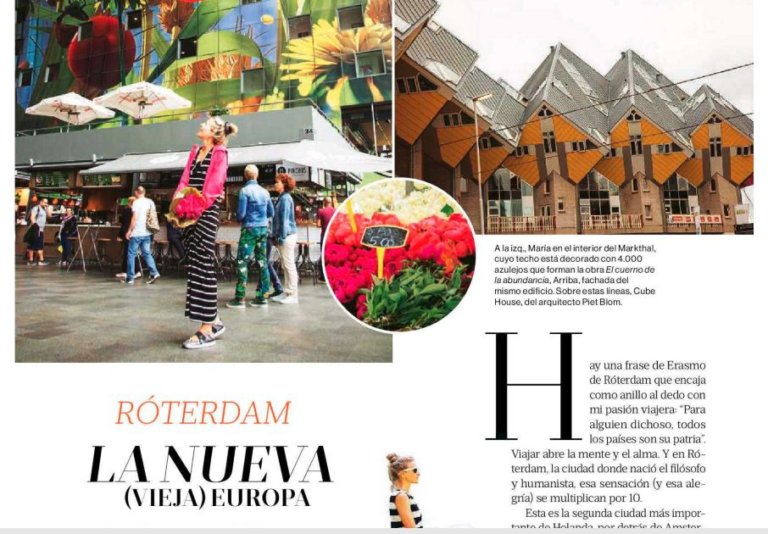 Mujer Hoy Rotterdam in the media