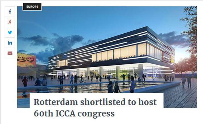 Rotterdam in de media - Exhibition World
