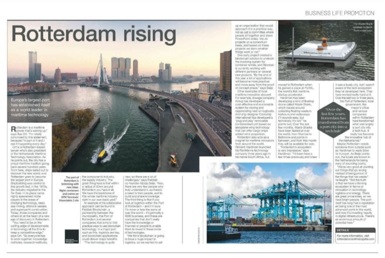 Rotterdam in the media business life