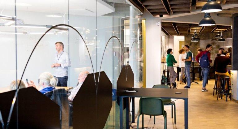rotterdam iris van den broek cic venture cafe groothandelsgebouw ondernemen innoveren innovatie
