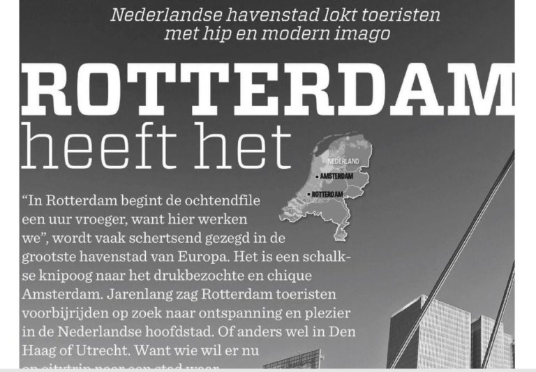 rotterdam in de media nieuwssblad belgie