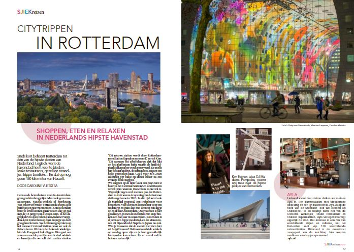 rotterdam in de media sjiek magazine