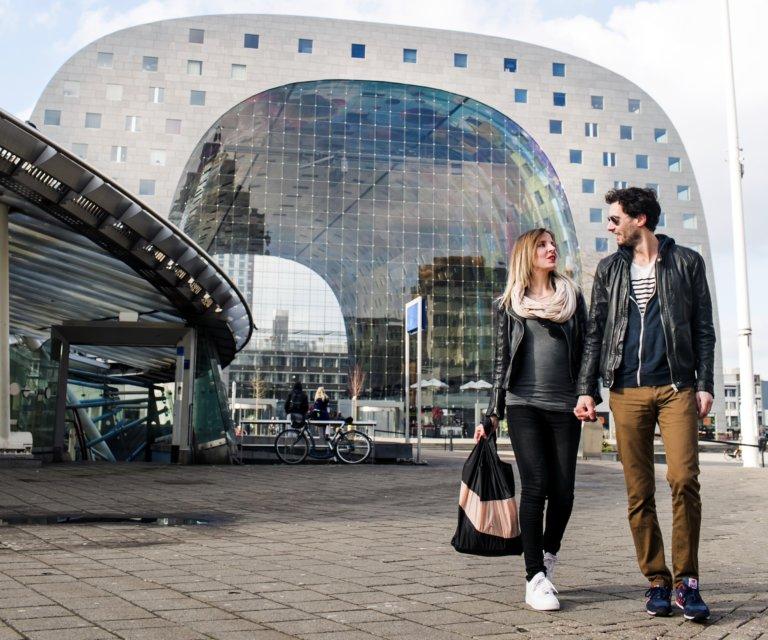 rotterdam markthal toeristen winkelen