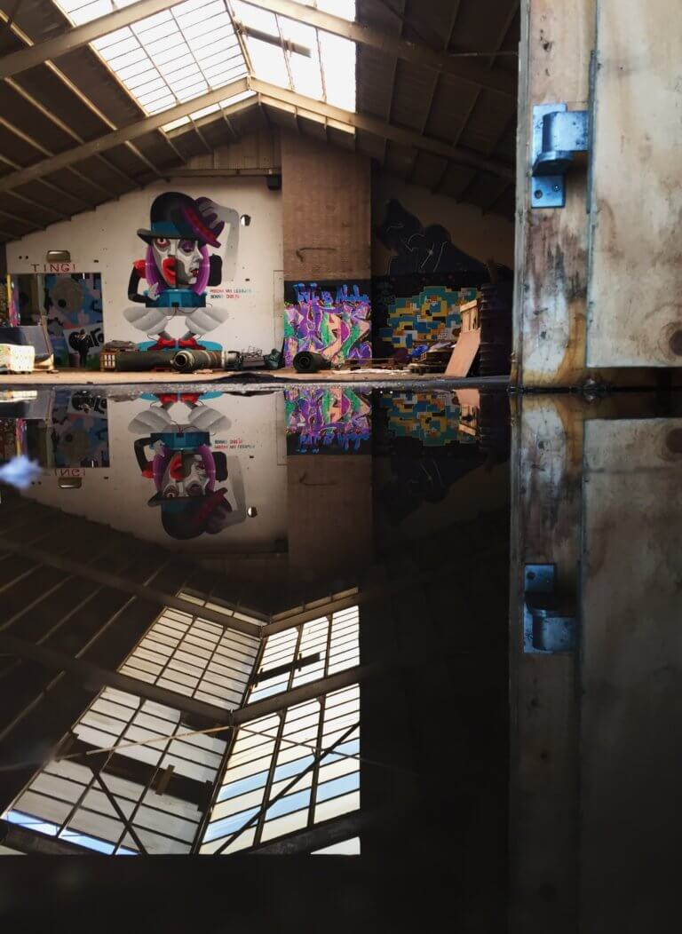 Pascal Sweet Rotterdam Makers District Instagram Meet Ferro Dome graffiti Rotterdam Rotterdam Partners