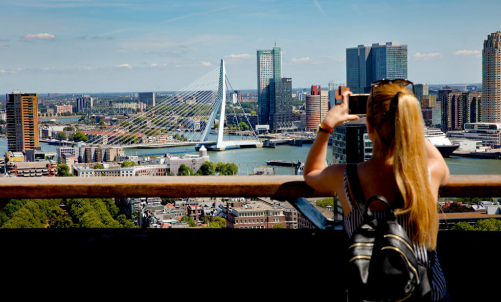 View from Euromast Rotterdam