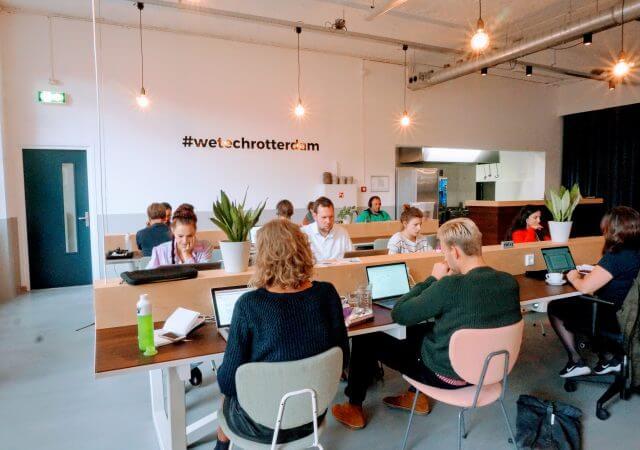 42workspace Rotterdam flexwerkplek in rotterdam