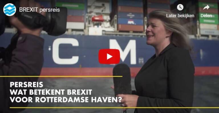 Persreis Brexit Haven Rotterdam