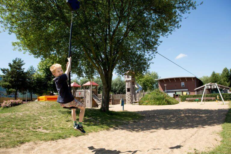Speeltuin in de wijk Spangen. Foto: Hester Blankesteijn.