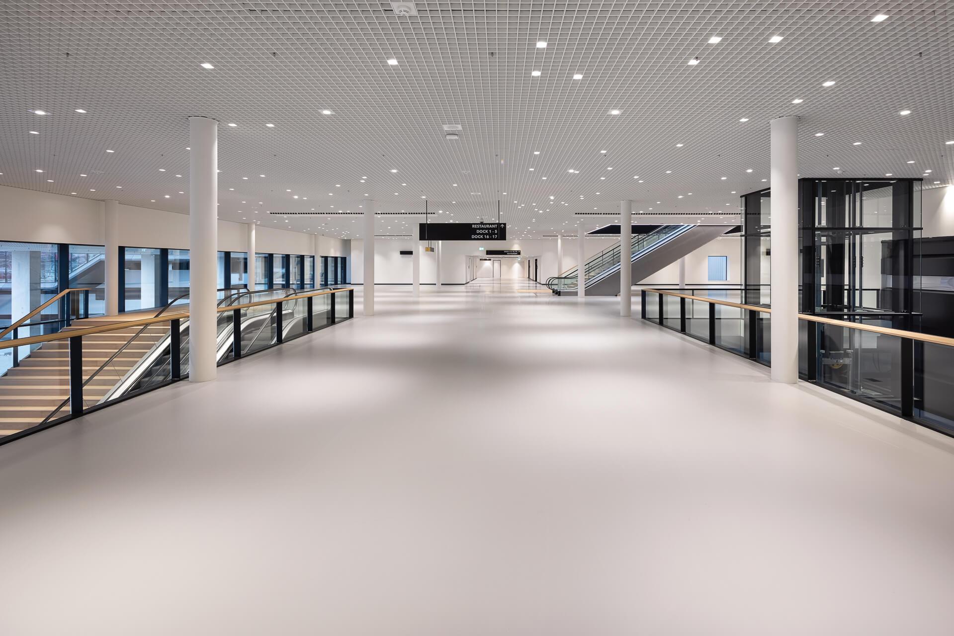 Impressie van het nieuwe Rotterdam Ahoy Convention Centre.
